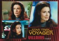 Star Trek Voyager Heroes Villains Card0381