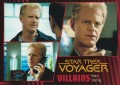 Star Trek Voyager Heroes Villains Card0421
