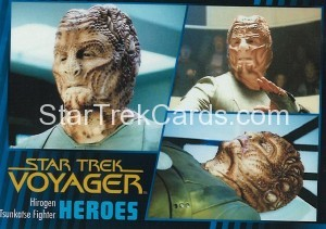 Star Trek Voyager Heroes Villains Card0431