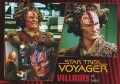 Star Trek Voyager Heroes Villains Card046