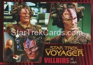 Star Trek Voyager Heroes Villains Card0461