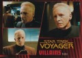 Star Trek Voyager Heroes Villains Card048