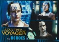 Star Trek Voyager Heroes Villains Card0511