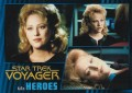 Star Trek Voyager Heroes Villains Card0531