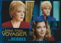 Star Trek Voyager Heroes Villains Card054