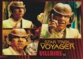 Star Trek Voyager Heroes Villains Card0551