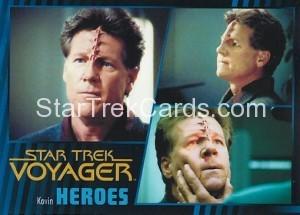 Star Trek Voyager Heroes Villains Card0571