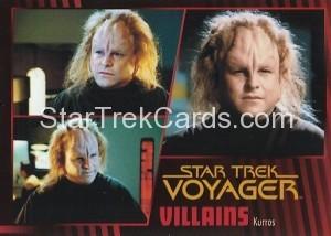 Star Trek Voyager Heroes Villains Card0581