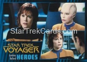 Star Trek Voyager Heroes Villains Card062