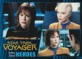 Star Trek Voyager Heroes Villains Card0621