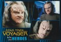 Star Trek Voyager Heroes Villains Card064