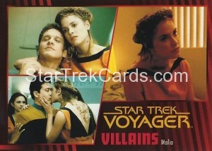 Star Trek Voyager Heroes Villains Card066