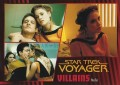 Star Trek Voyager Heroes Villains Card0661