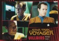 Star Trek Voyager Heroes Villains Card068