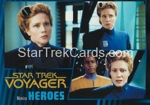 Star Trek Voyager Heroes Villains Card071