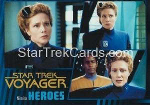Star Trek Voyager Heroes Villains Card0711