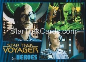 Star Trek Voyager Heroes Villains Card073