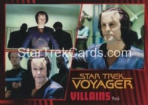 Star Trek Voyager Heroes Villains Card074