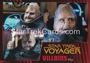 Star Trek Voyager Heroes Villains Card075