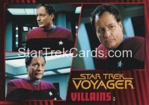 Star Trek Voyager Heroes Villains Card077
