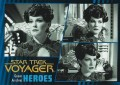 Star Trek Voyager Heroes Villains Card078