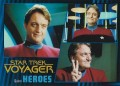 Star Trek Voyager Heroes Villains Card079