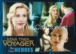 Star Trek Voyager Heroes Villains Card082