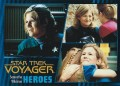 Star Trek Voyager Heroes Villains Card0831
