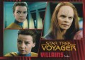 Star Trek Voyager Heroes Villains Card084