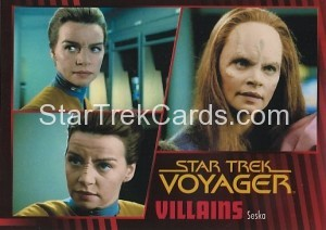 Star Trek Voyager Heroes Villains Card0841