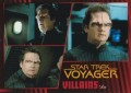 Star Trek Voyager Heroes Villains Card0851