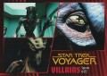 Star Trek Voyager Heroes Villains Card086