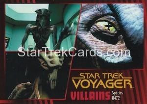 Star Trek Voyager Heroes Villains Card0861