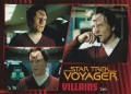 Star Trek Voyager Heroes Villains Card0871