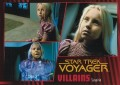 Star Trek Voyager Heroes Villains Card089