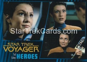 Star Trek Voyager Heroes Villains Card090