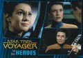 Star Trek Voyager Heroes Villains Card0901