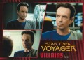 Star Trek Voyager Heroes Villains Card091