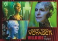 Star Trek Voyager Heroes Villains Card092