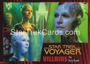 Star Trek Voyager Heroes Villains Card0921