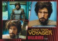 Star Trek Voyager Heroes Villains Card0951
