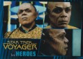Star Trek Voyager Heroes Villains Card096