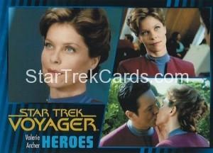 Star Trek Voyager Heroes Villains Card097