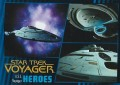 Star Trek Voyager Heroes Villains Card0991