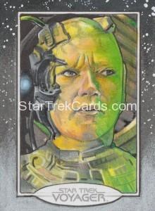 Star Trek Voyager Heroes Villains Sketch Michael James Front Alternate