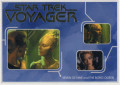 Star Trek Voyager Heroes Villains Trading Card R11