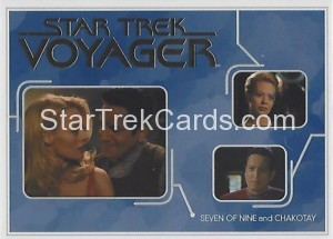 Star Trek Voyager Heroes Villains Trading Card R2