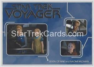 Star Trek Voyager Heroes Villains Trading Card R20