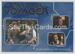 Star Trek Voyager Heroes Villains Trading Card R5