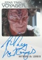 The Quotable Star Trek Voyager Trading Card Autograph Anthony De Longis